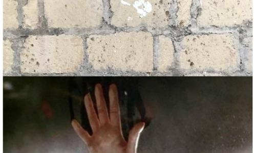 Face au mur avec le fantôme de Kate Winsley